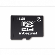 16GB Integral MicroSDHC card Class 10 UltimaPro (20MB/s)